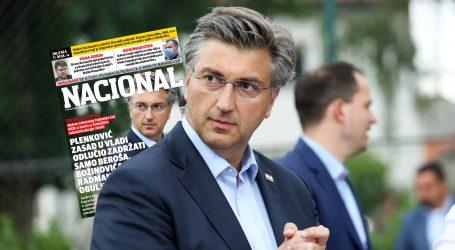 EKSKLUZIVNO: Plenković zasad u Vladi odlučio zadržati samo Beroša, Božinovića, Radmana i Obuljen Koržinek
