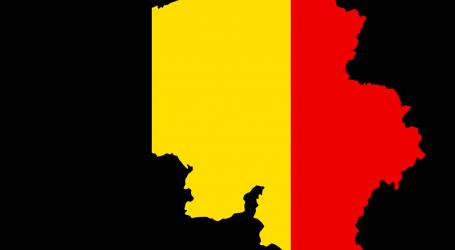 Golem porast broja zaraženih u Belgiji