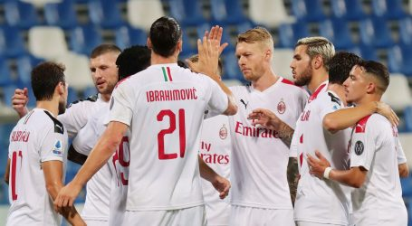 SERIE A: Milan novom pobjedom potvrdio sjajnu formu, Atalanta skočila na drugo mjesto