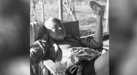 KNJIŽEVNOST: Ernest Hemingway, ili kako biti slobodan, divlji i nesputan