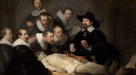 Rembrandt, najsnažnija osoba u nizozemskoj umjetnosti 17. stoljeća