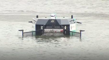 Robot za čišćenje rijeke u Shanghaiju opremljen 5G tehnologijom
