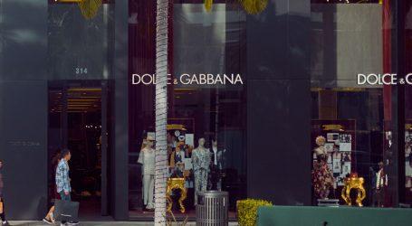 Održana fizička modna revija Dolce & Gabbane u doba koronavirusa