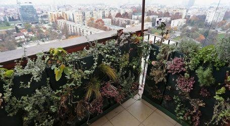 Uspravni zeleni vrtovi su popularno urbano rješenje