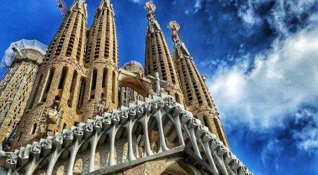 Sagrada Familia otvorena za djelatnike s prve linije borbe protiv koronavirusa