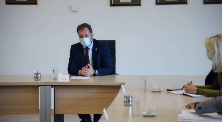 Ministar Banožić održao sastanak s predstavnicima Sindikata o ustroju MORH-a
