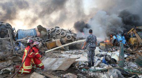 Ogromna eksplozija u Bejrutu odnijela više od sto života, u luci bile uskladištene tone opasnog nitrata