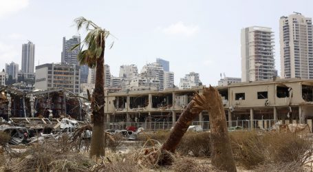 Libanonska policija suzavcem na protuvladine prosvjednike nakon goleme eksplozije