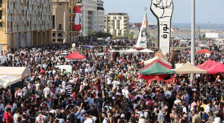Nasilni prosvjedi u Bejrutu, policija ispalila suzavac