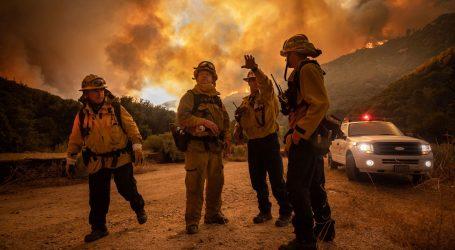 Očekuje se širenje kalifornijskih požara zbog munja i jaka vjetra