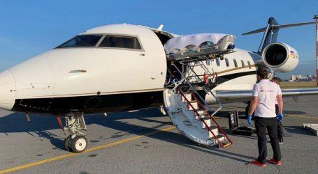Medicinski zrakoplov s Navaljnim poletio u Njemačku