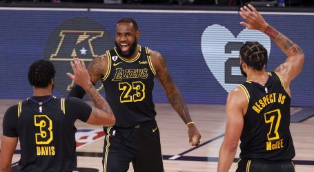 NBA: Lakersi uvjerljivi protiv Portlanda, Miami 'pomeo' Indianu