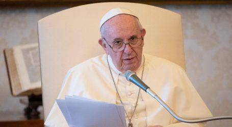 Papa Franjo će nakon šest mjeseci ponovno služiti audijencije pred vjernicima