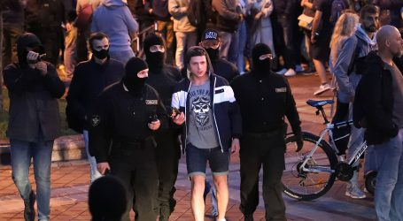 BJELORUSIJA: Uhićenja na prosvjedima protiv Lukašenka