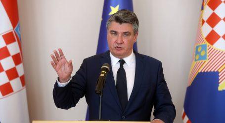 """Milanović o padu BDP-a: """"Vlada na to nije imala utjecaja, ne možete nikoga kriviti"""""""
