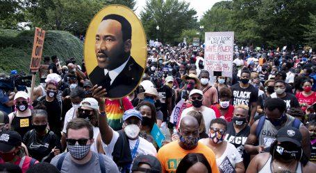 """""""Dosta je"""": Proturasistički prosvjednici u Washingtonu traže jednakost"""