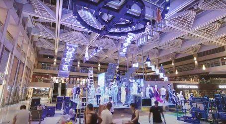 Pogledajte kako nastaju moderni izložbeni prostori za modne kolekcije