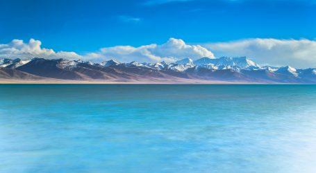Jezero Nam najviše je slano jezero na svijetu, pogledajte snimke iz zraka