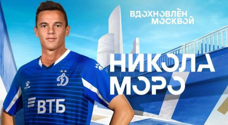 Nikola Moro i službeno zagrebački Dinamo zamijenio moskovskim