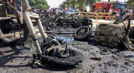 Policija objavila detalje: Jučerašnji požar na Rivi uzrokovao tehnički kvar na eletro mopedu