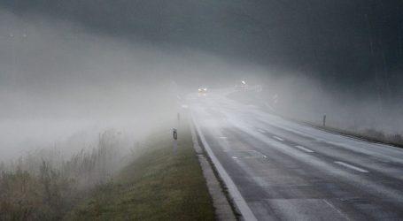 HAK: Magla smanjuje vidljivost, prometna nesreća na Krku