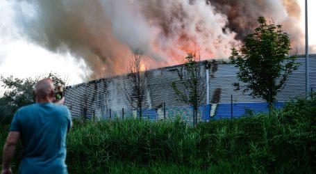 Izbio požar u zagrebačkom CIOS-u, ipak je manjeg intenziteta, poznat je i uzrok