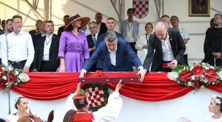 Milanović: Sinjska alka je prije svega naša tradicija