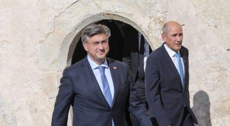 Na Bledskom strateškom forumu susret Janše i Plenkovića