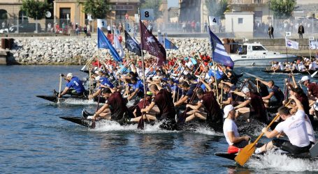 23. maraton lađa – 35 posada u utrci za veliki štit kneza Domagoja