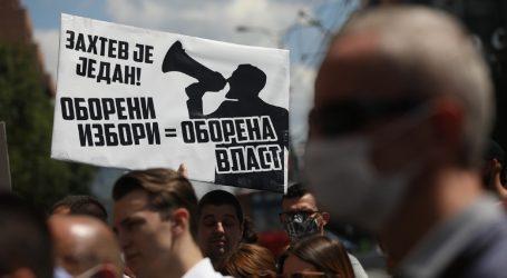 """Opet prosvjed u Beogradu: """"Falsificirali su izbore!"""""""