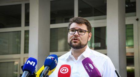 Peđa Grbin i formalno predao kandidaturu za šefa SDP-a