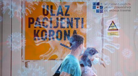 U Zagrebu 36 novozaraženih koronavirusom