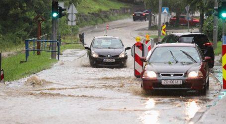 Nevrijeme u Zagrebu, opet potopljen podvožnjak