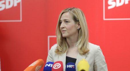 Mirela Ahmetović predala kandidaturu za predsjednicu SDP-a