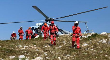 HGSS spasio majku i osmogodišnju kći kod vrha Biokova