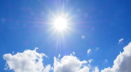 Sunčano i vedro, temperature idu do 32 °C