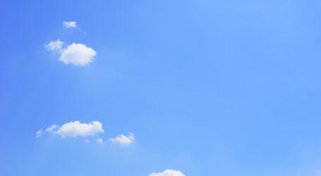DHMZ: Sunčano, na Jadranu umjerena bura