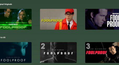Ryan Reynolds pokrenuo streaming uslugu, u katalogu je samo jedan film