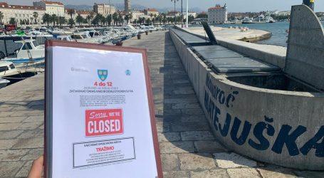 """Dalmatinski kafići zatvorili vrata na sat vremena: """"Država nas šije 2:0, ali mi ćemo dobiti na penale"""""""