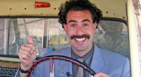 U novom filmu, koji ima urnebesan naslov, Borat se sprda s Trumpom