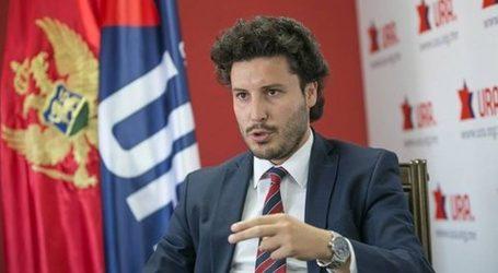 """Abazović: """"U ovom trenutku poraženi su mafija i kriminal, a ne građani Crne Gore"""""""