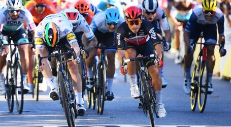 TOUR DE FRANCE: Petersu osma etapa, Yates i dalje vodeći