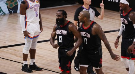 NBA: Houston Rocketsi prošli u polufinale