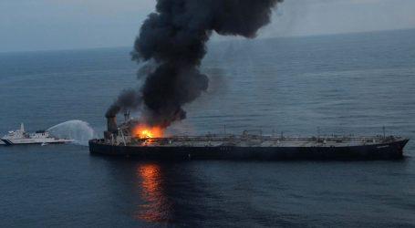 Požar na tankeru mogao bi izazvati ekološku katastrofu u Indijskom oceanu