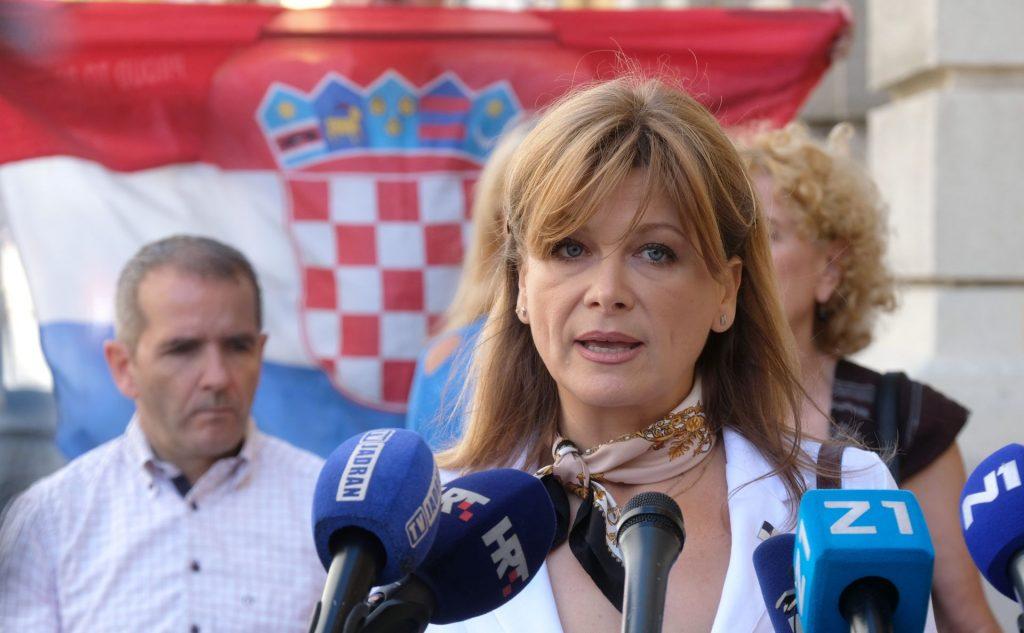 Vidović Krišto optužila medije za propagandno izvještavanje o koronavirusu  – NACIONAL.HR