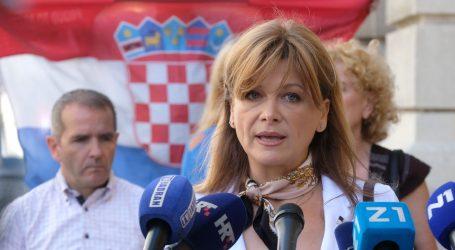 Vidović Krišto optužila medije za propagandno izvještavanje o koronavirusu