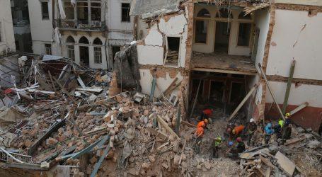 Nema znakova života u urušenoj zgradi u Bejrutu