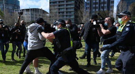 U Australiji uhićeni deseci prosvjednika protiv strogih mjera u pandemiji
