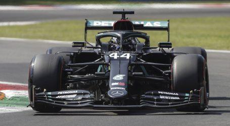 F1: Hamilton odvozio najbrži krug u povijesti Monze