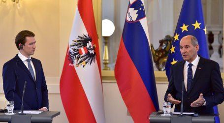 Janša i Kurz za zajednički pristup pandemiji i nezakonitim migracijama